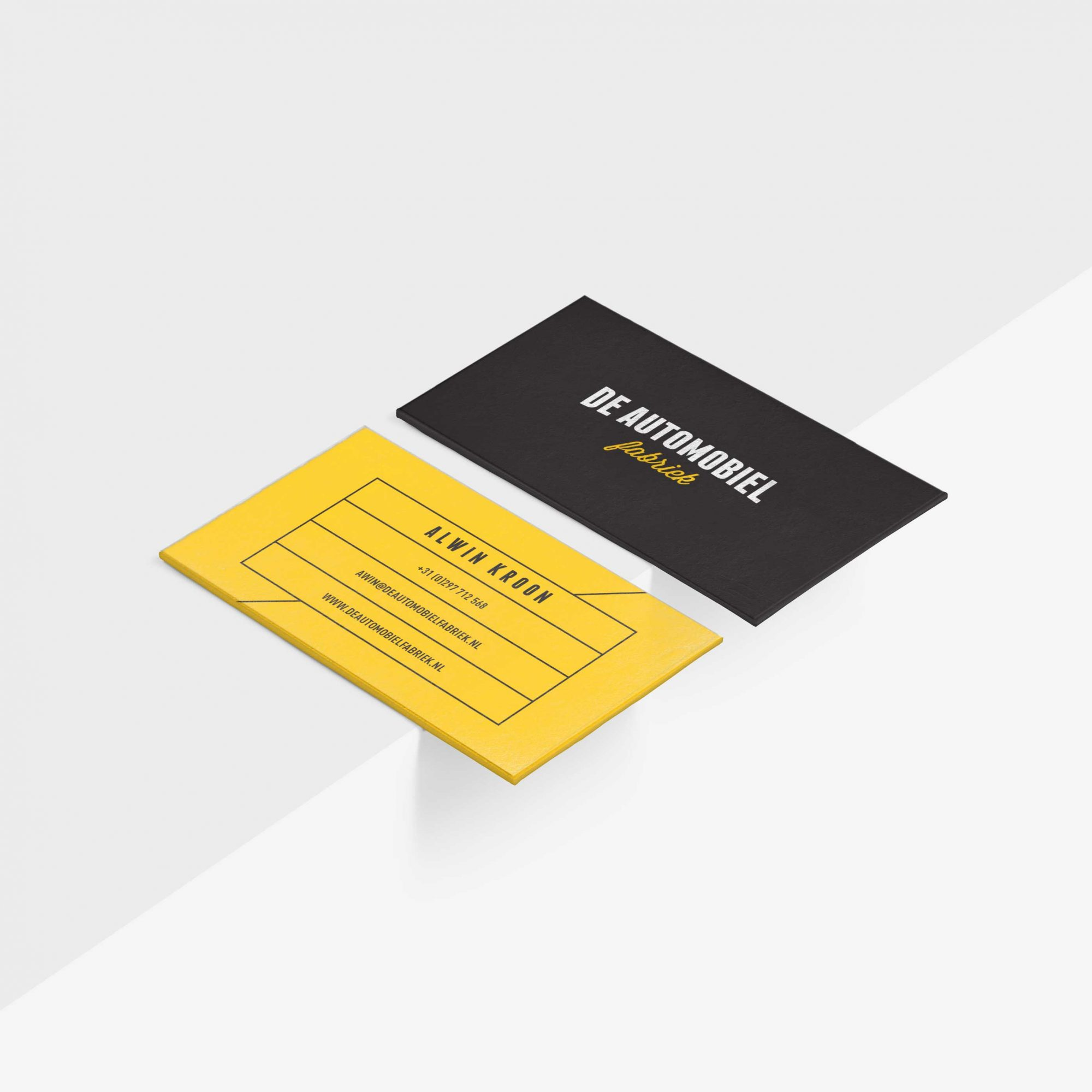 De Automobielfabriek Business Cards