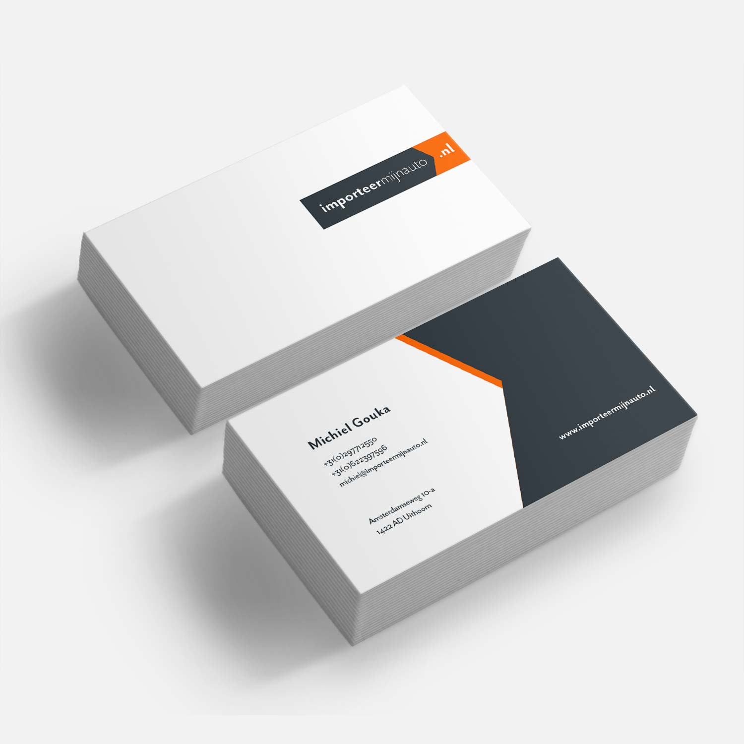 Importeermijnauto.nl Business Cards
