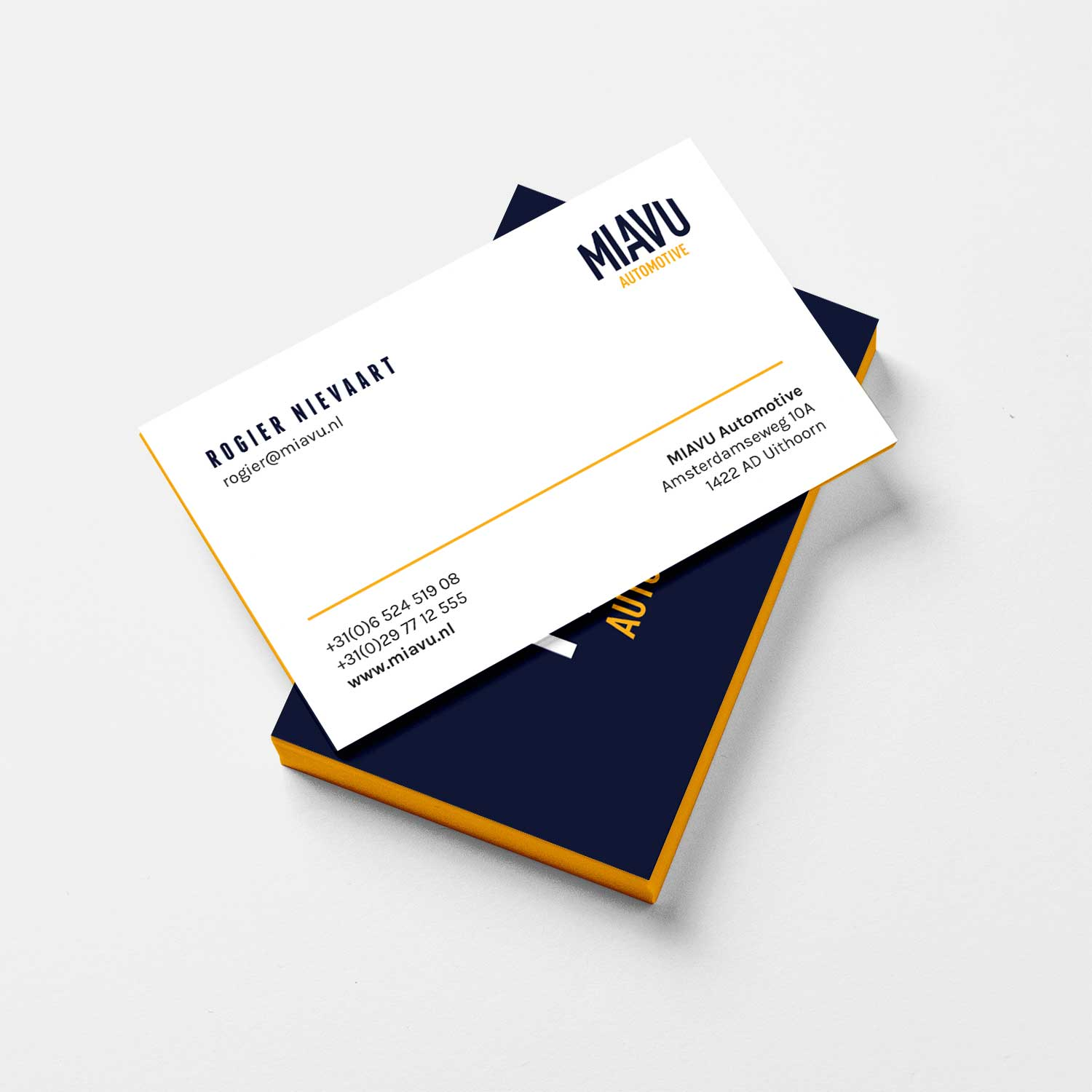 MIAVU Business Cards