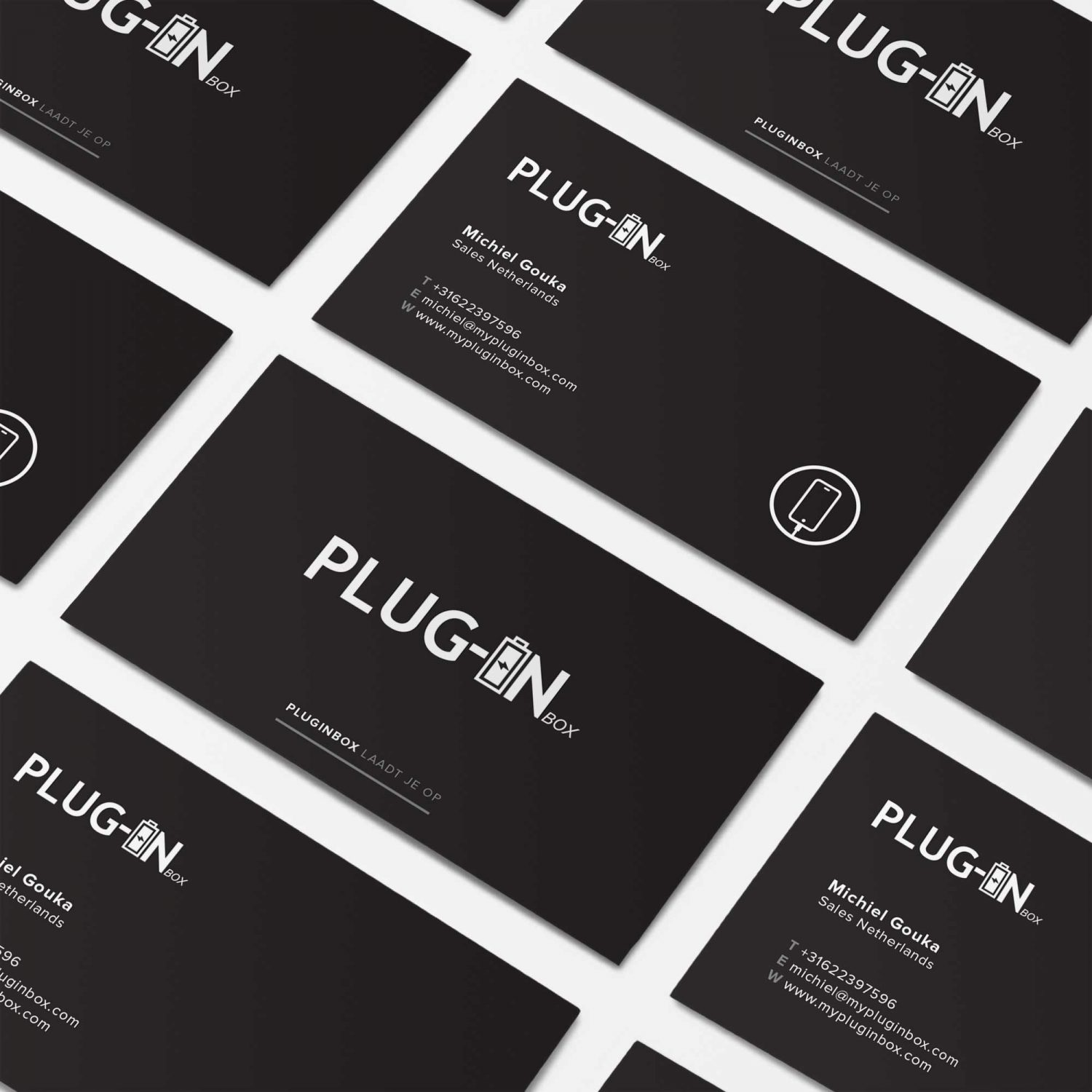 Plug-in Box Business Cards