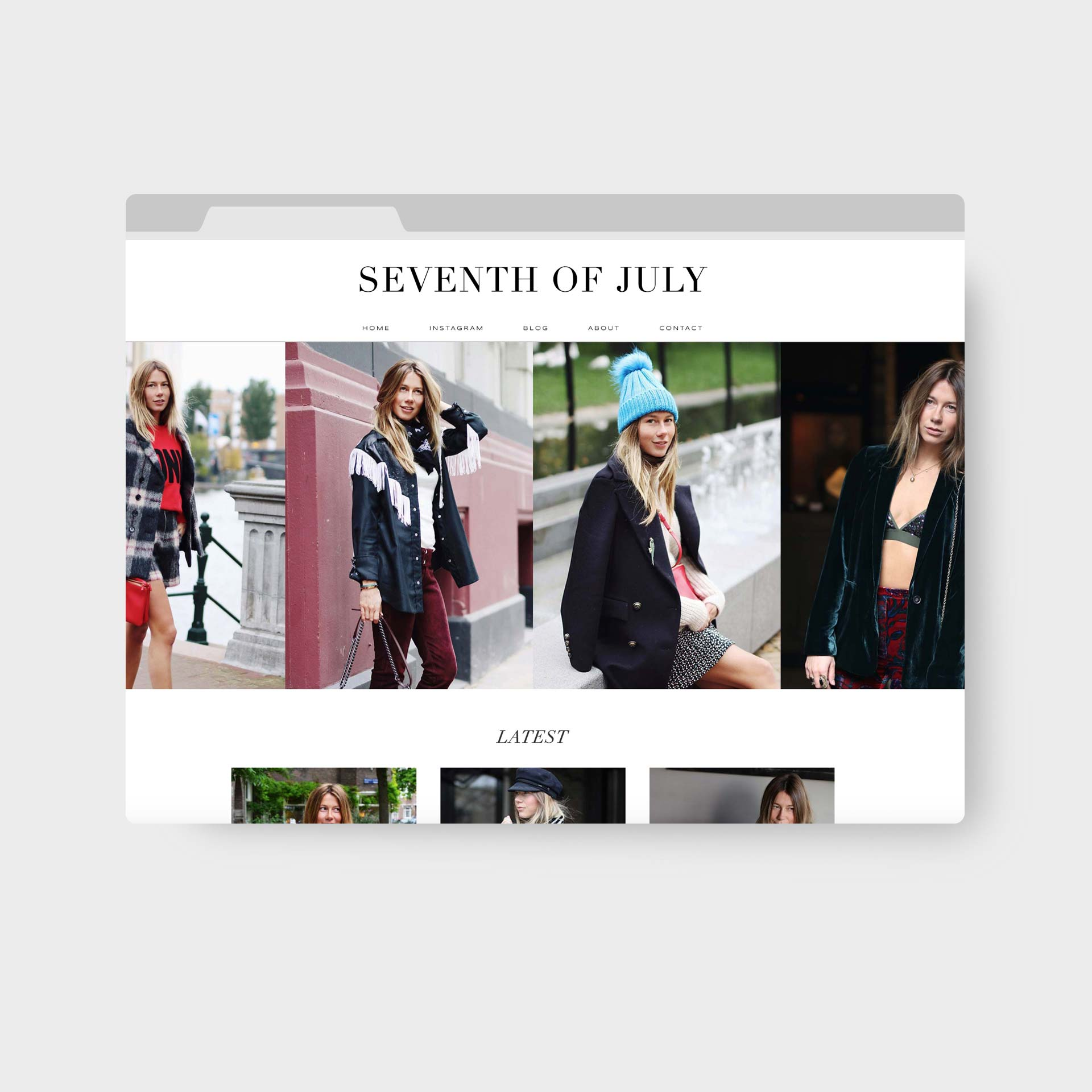 Seventh of July Webdesign