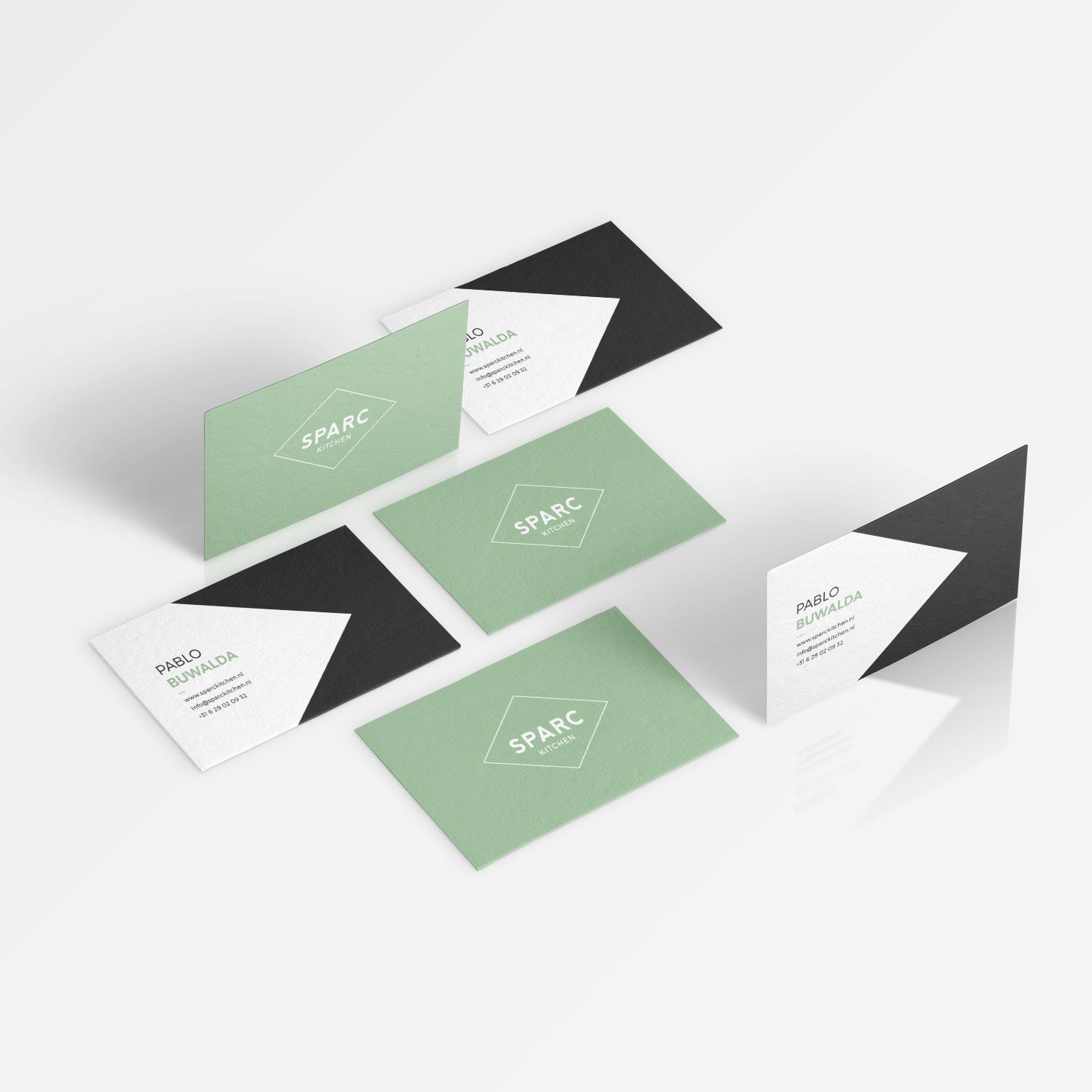 Sparc Kitchen Business Cards