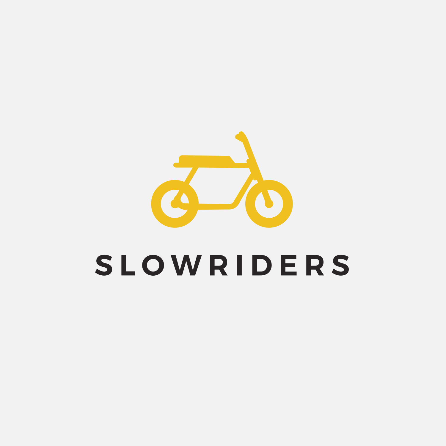 Slowriders Bike Club Logo