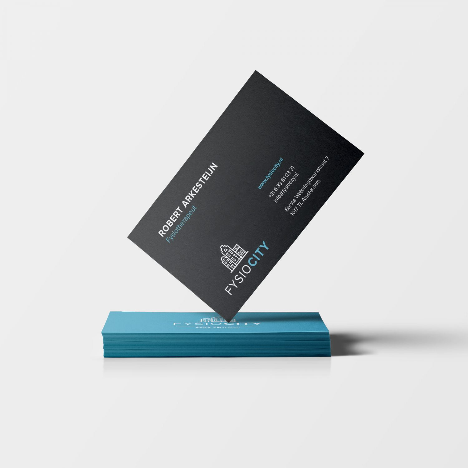 Fysiocity Business Cards