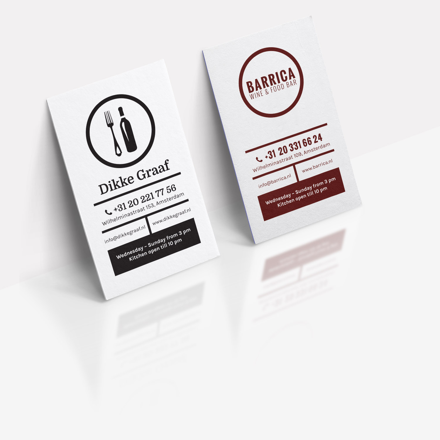 barrica business card