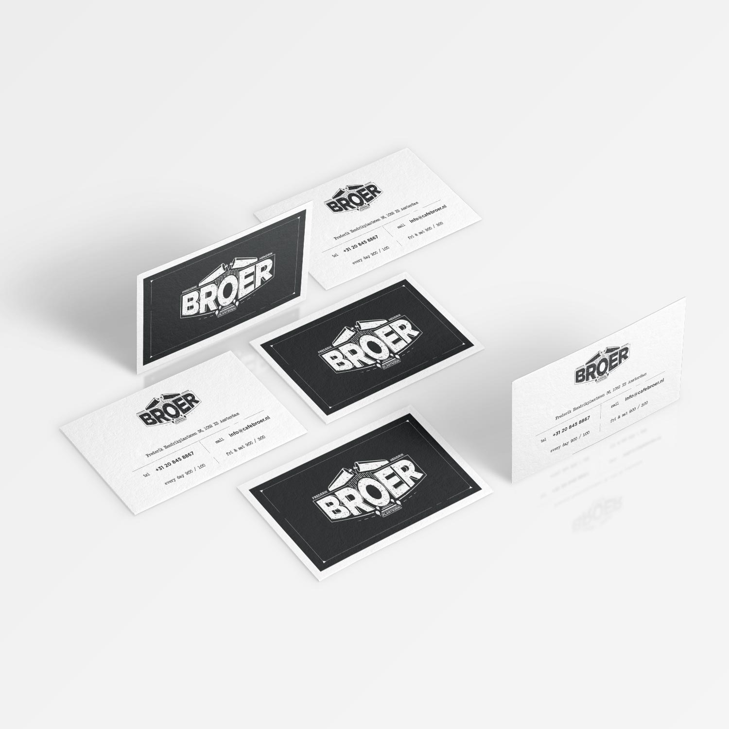 Cafe Broer Business Cards